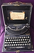 Vintage Remington Brand Portable Typewriter