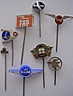 Vintage European Airlines Badge Lapel Pins