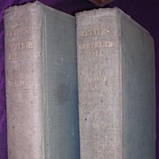 1927 First Edition 'The Letters of GERTRUDE BELL' 2 Volumes