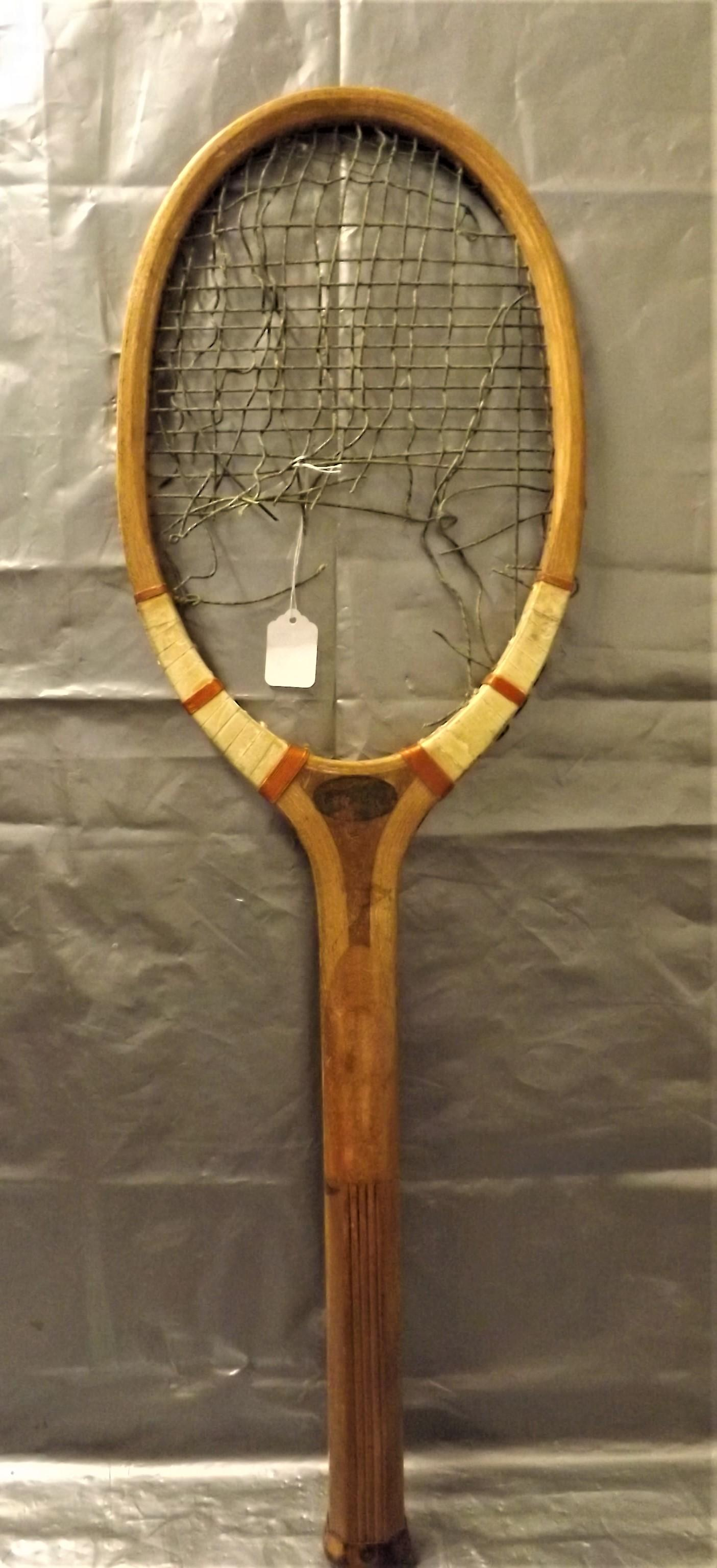 1920's French  'DRIWA' Tennis Racquet