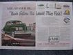 1940 NASH Double Page Spread Advertisement