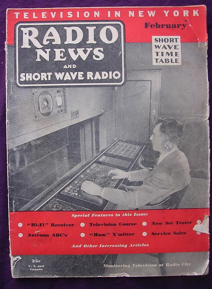 Radio News Magazine February 1938