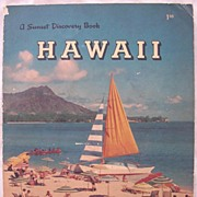 Hawaiian Travel and Promotional Booklet FIRST EDITION 1957