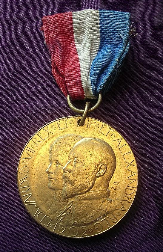 KING EDWARD V11 Coronation Medal 1902
