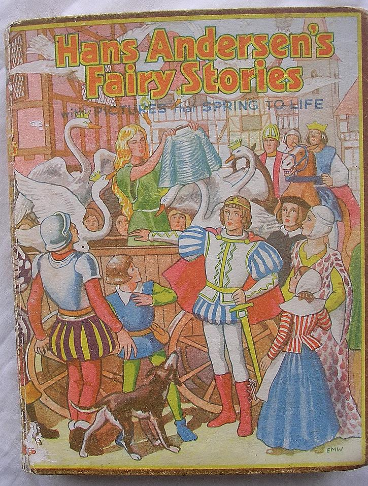 BOOKANO Pop-Up Book 'Hans Andersen's Fairy Stories' Circa 1938