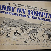"Falklands War 'Carry On Yomping"" Cartoon Book 1982"