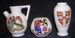 Crested Ware Miniatures - Collectors Selection Of Three Vintage Pieces