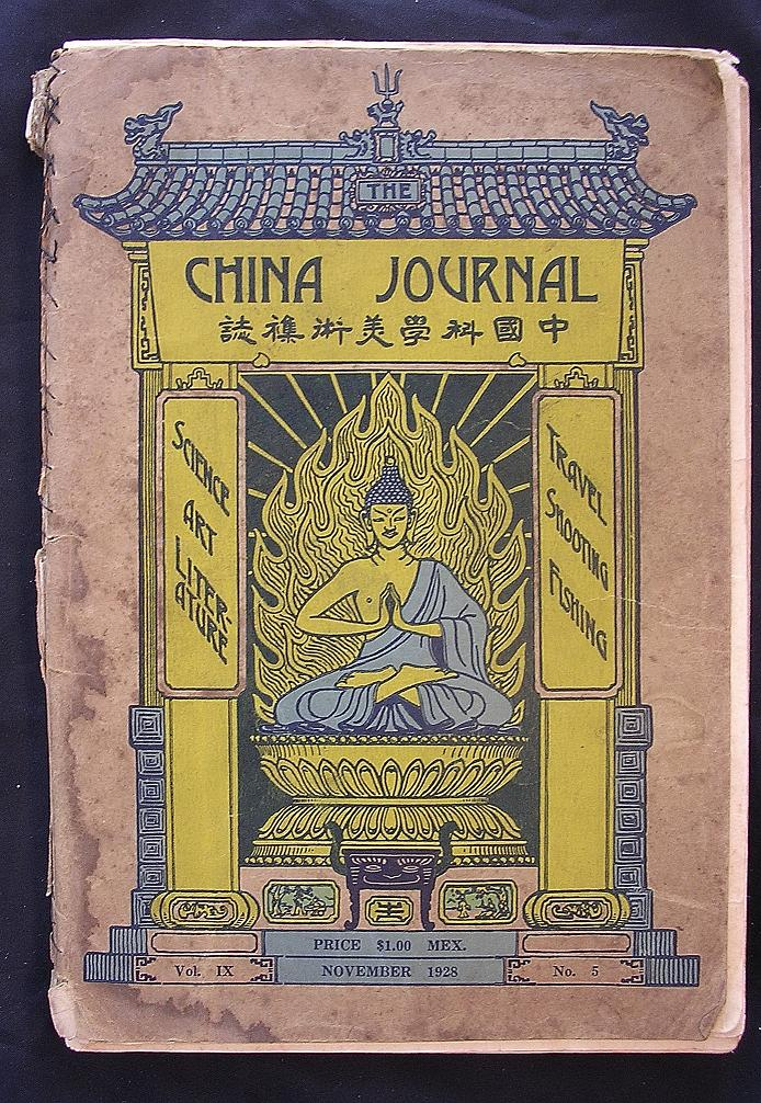 The CHINA Journal November 1928 Vol. 1X