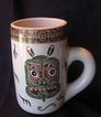Rare Australian ESSEXWARE Tankard With Maori Graphics Design