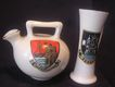 CRESTED WARE Miniatures - Collectors Selection Of Two Vintage GOSS Pieces