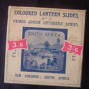 VICTORIAN Primus Lantern Slides Of The Cape Colony