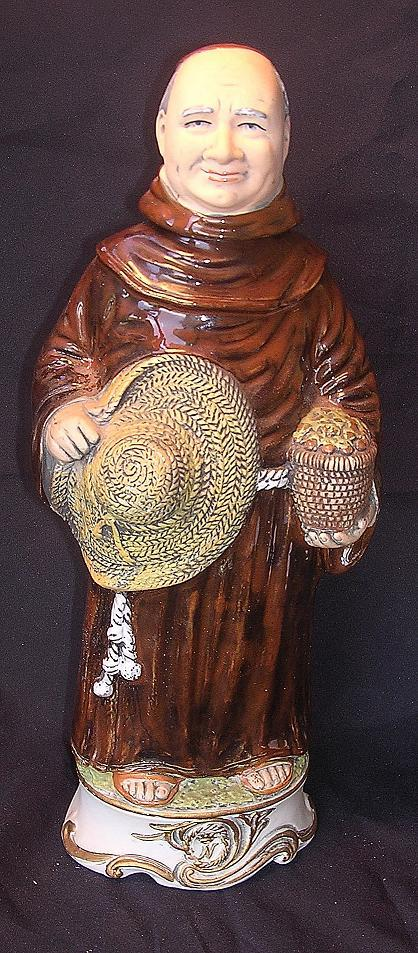 CAPODIMONTE Monk - Limited Edition Frangelico Decanter