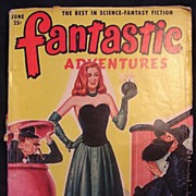 FANTASTIC Adventures Sci Fi Magazine Vol.12 Number 6 1950