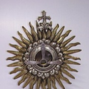 SALE Magnificent French Bronze MONSTRANCE