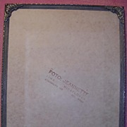 French Bronze Photo Frame Circa 1910-1920