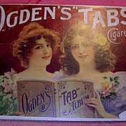 OGDEN Tabs Cigarettes Mounted Display Poster