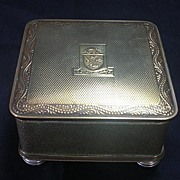 Peninsular & Oriental Steamship Co Trinket Box Circa 1940