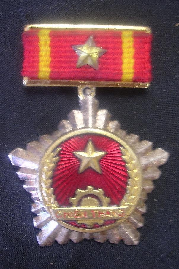 VIET CONG Victory Order With National Liberation Front Ribbon