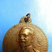 Medal of The Bourgmestre de Bruxelles 1914