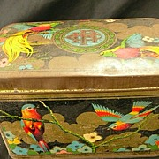Cadbury Fry Hudson Old Biscuit Tin Circa Early 1900's