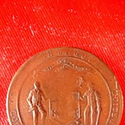 Govan 1911 Coronation Medallion King George & Queen Mary