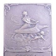POLY Harriers Bronze Art Nouveau Small Plaque  Dated 1921