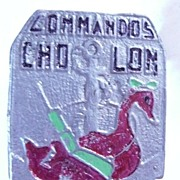 VIETNAM Indochine War - French Foreign Legion - MNTV - Saigon Militia Badge