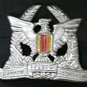Vietnam War - VNAF - South Vietnam - Air Force -Cap Badge