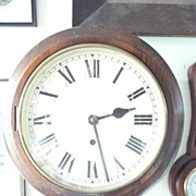 An Old English 'ELLIOTT' Railway or School Wall Clock - Post 1900