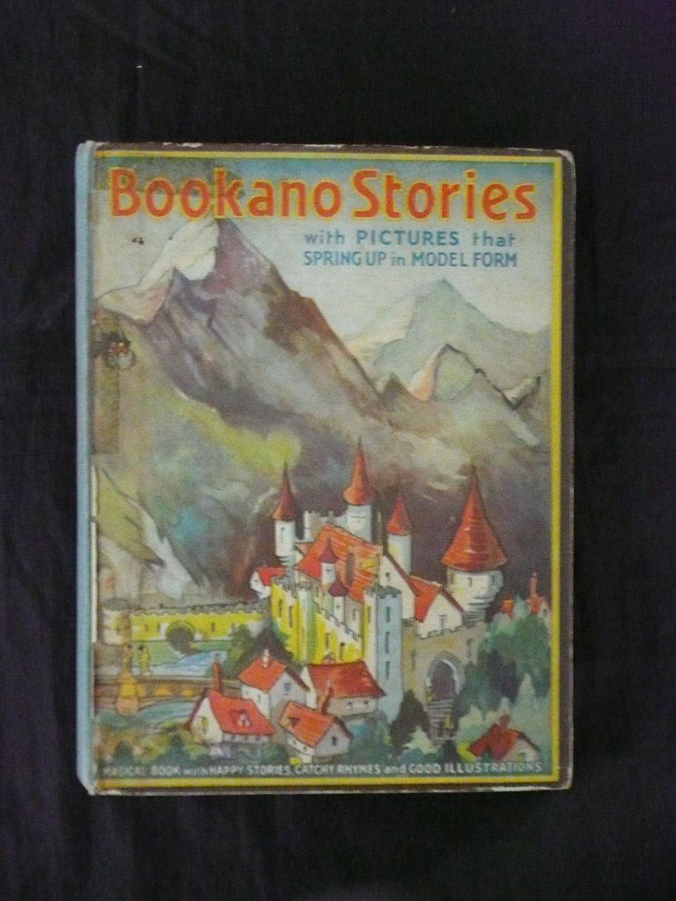 BOOKANO Stories With Pictures That Spring Up -Circa 1950
