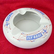 BOAC Advertising Ashtray Circa 1950
