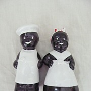 Black Americana Negro Salt & Pepper Set