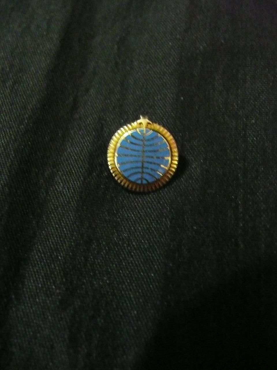 PAN AM 5 Year Staff Service Lapel Pin Circa 1960's