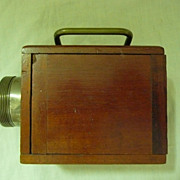 "EVER - READY  ""Bullsi"" Box  Lantern Torch Circa 1914"