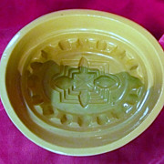 Old Victorian Ceramic Pate or Jelly Mold - Lovatt's England