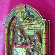 Old Durham Cathedral Brass Door Knocker Circa 1900