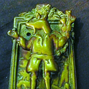 Old English &quot;Trusty Servant&quot; Door Knocker Circa 1900-1910