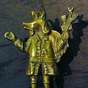 &quot;Trusty Servant&quot; Old English Door Knocker Circa 1910-1915
