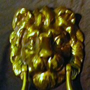 Big LION Face Door Knocker