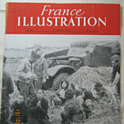 "ORIGINAL Front Cover ""INDOCHINE War""   From L ' Illustration French Magazine March 1"