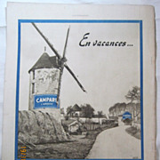 SALE ORIGINAL &quot;CAMPARI&quot; Advert From  L ' Illustration French Magazine  July 1938