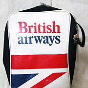BRITISH Airways Vintage Cabin Bag