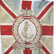 Large Original Flag  of Queen Victoria
