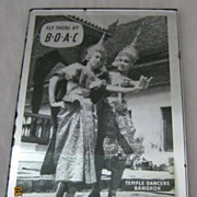 BOAC Pocket Mirror -Thailand Picture