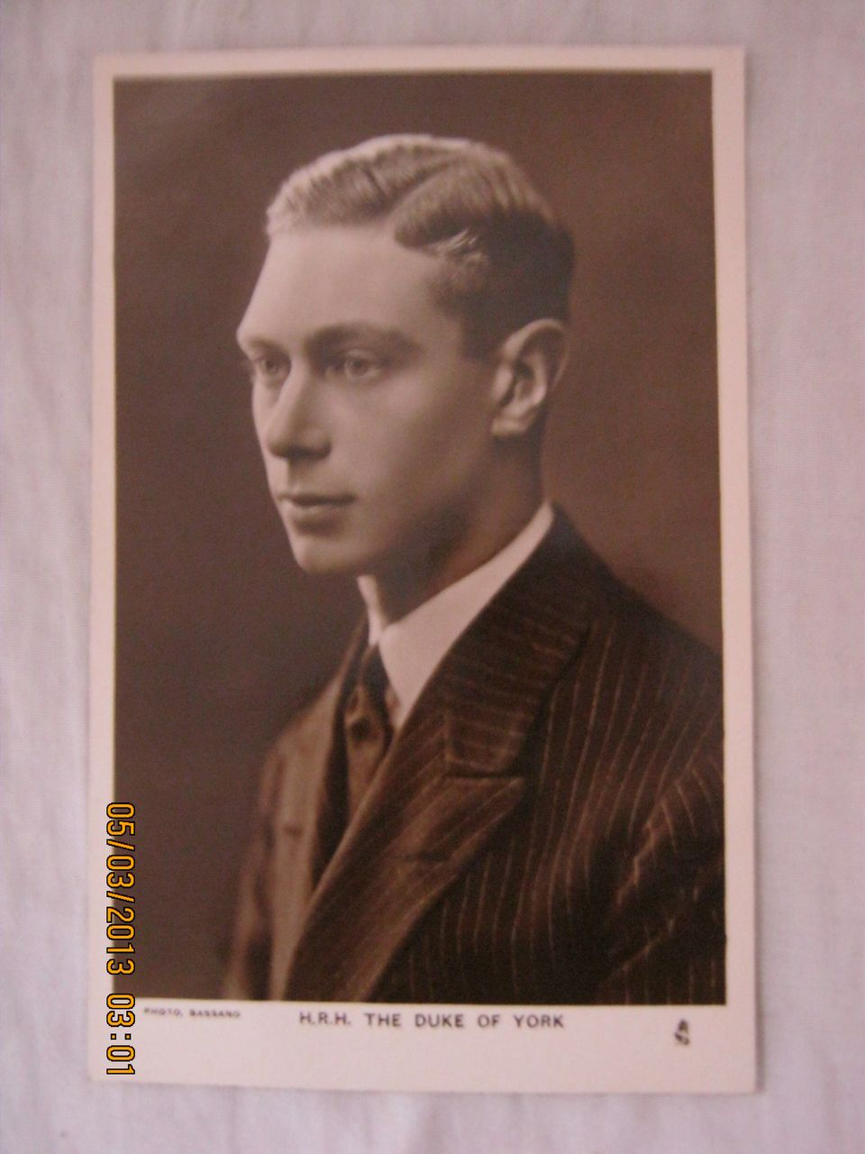 H.R.H. The Duke  of York