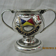Rare R.M.S. Medina Souvenir Small Trophy Cup