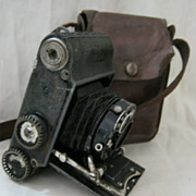 Voigtlander PERKEO 3X 4 Camera With Anastigmat Skopar Lens 1930's