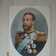 British Royalty Postcard King GEORGE V