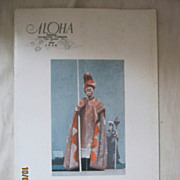 MATSON Navigation Co &quot;Aloha&quot; Booklet 1926