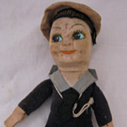 Sailor Boy Doll  Souvenir - S.S. Oronsay - Orient Line